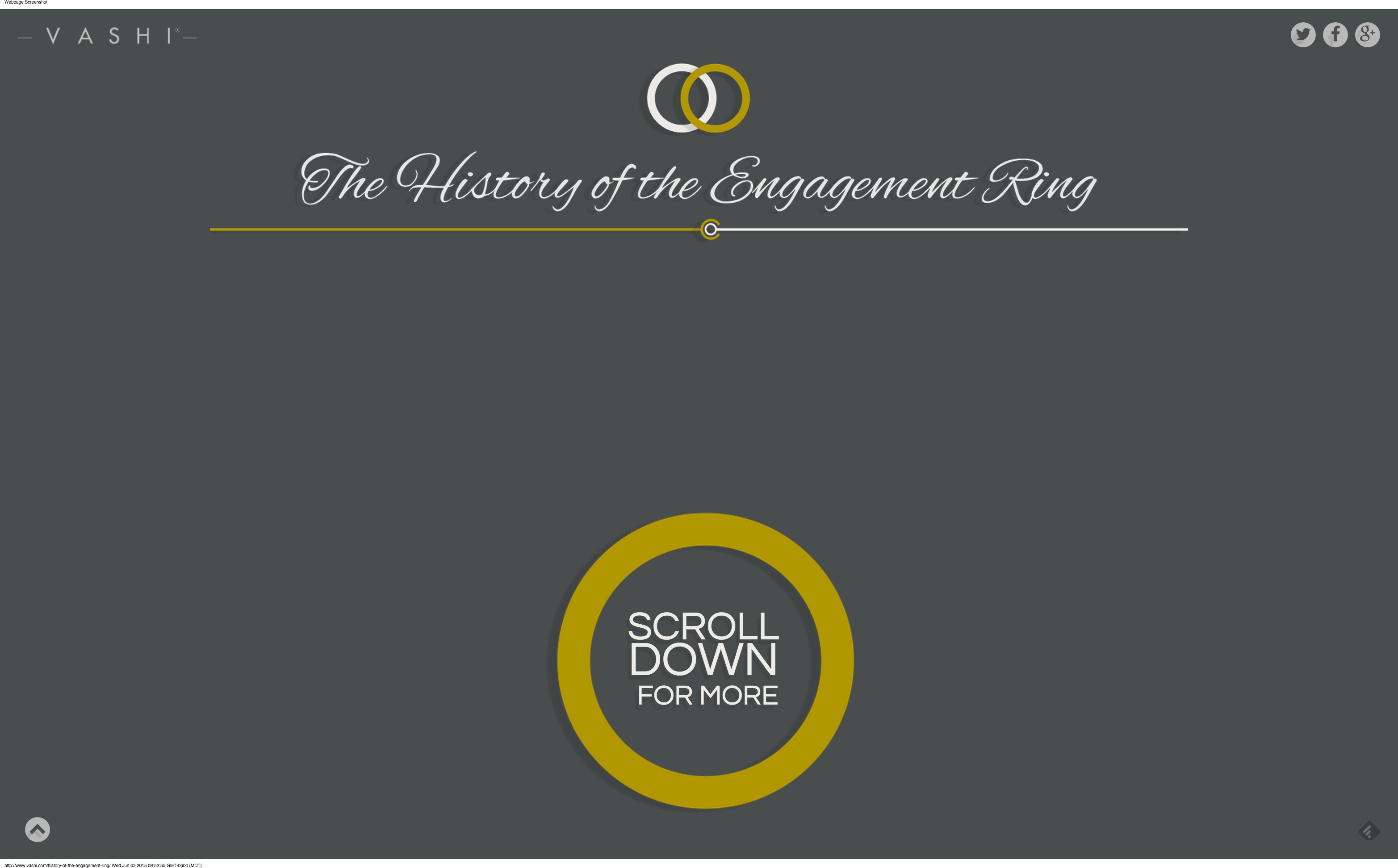The History of the Engagement Ring - Vashi.com